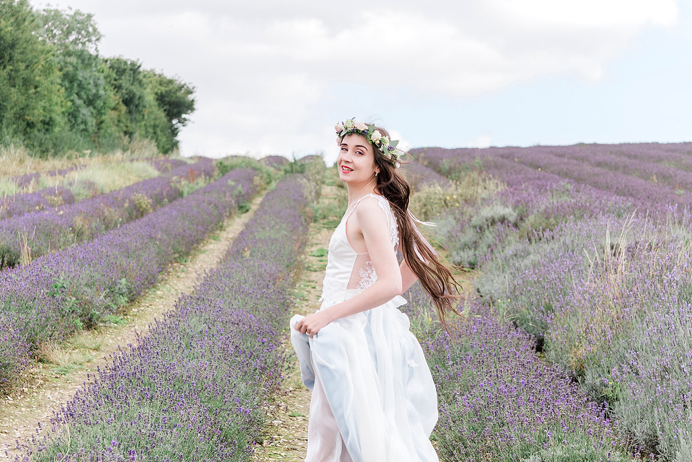 lavender styled shoot eco bride jessica turner designs