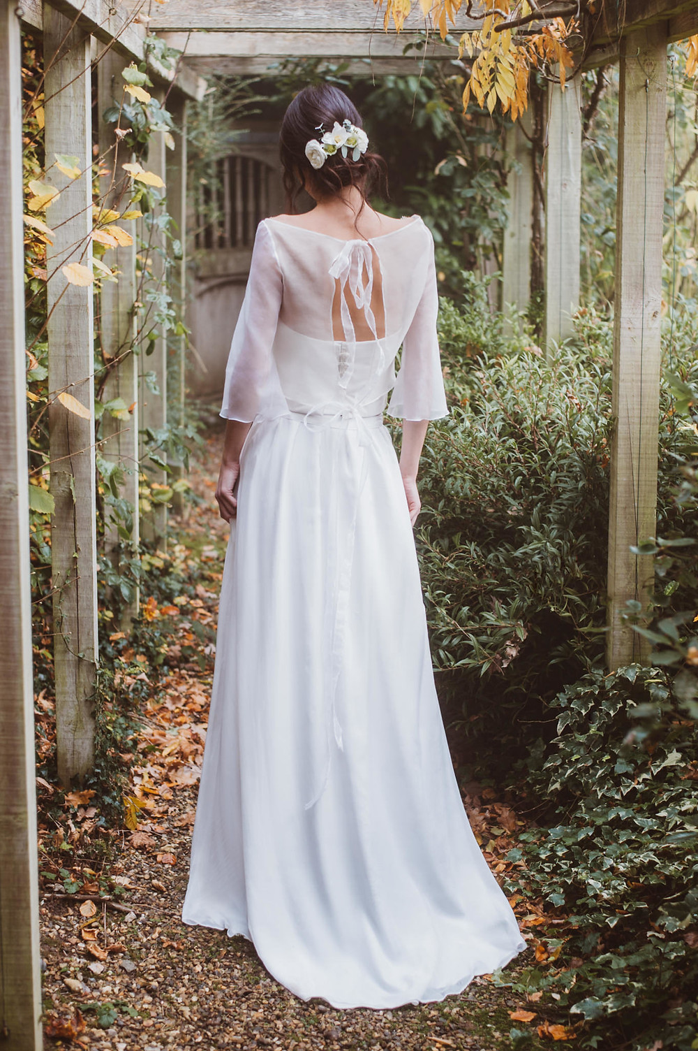 Bohemian wedding dress Jessica Turner Designs