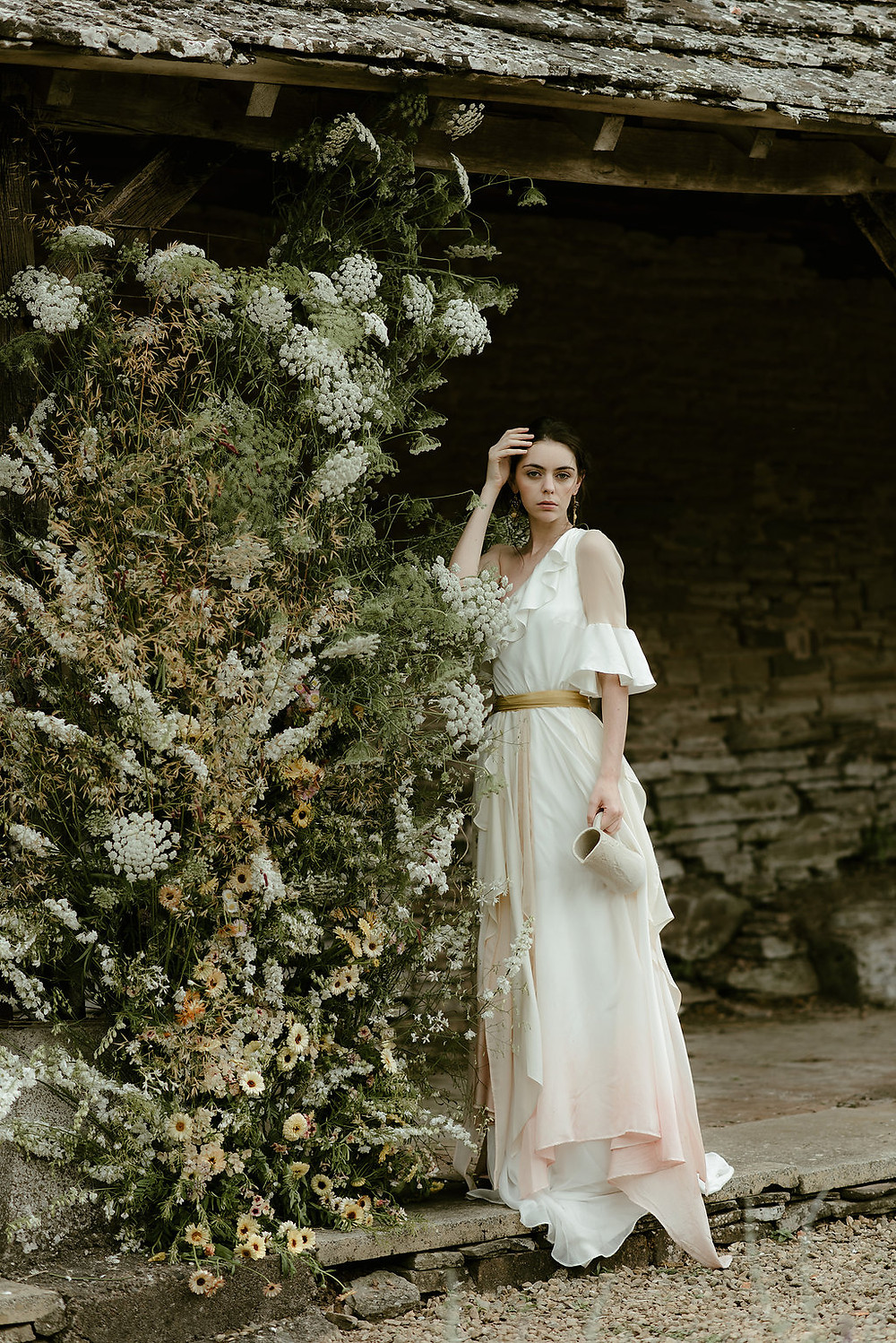 ethical wedding dress jessica turner designs artist muse