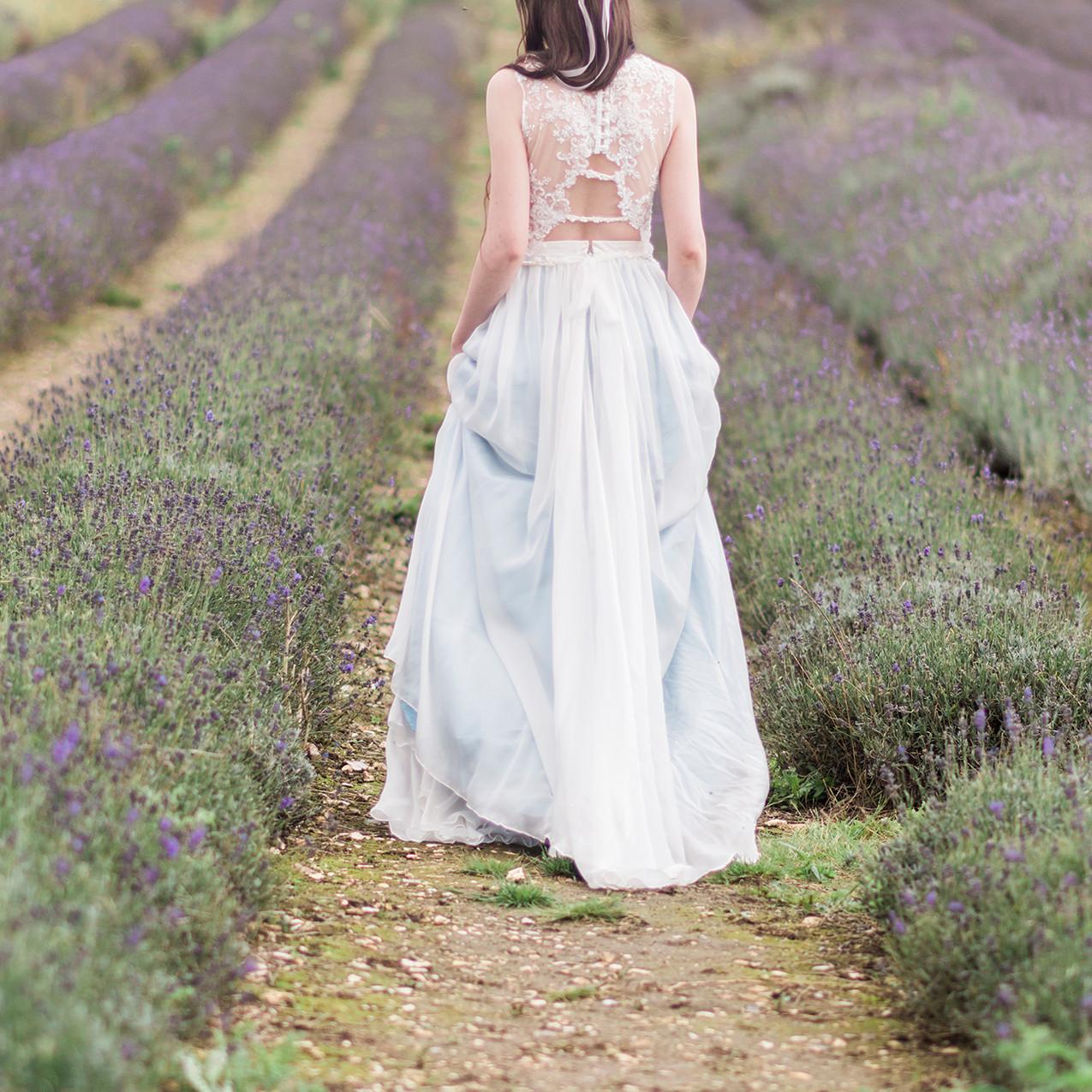 'Hollyhock' bridal separate.