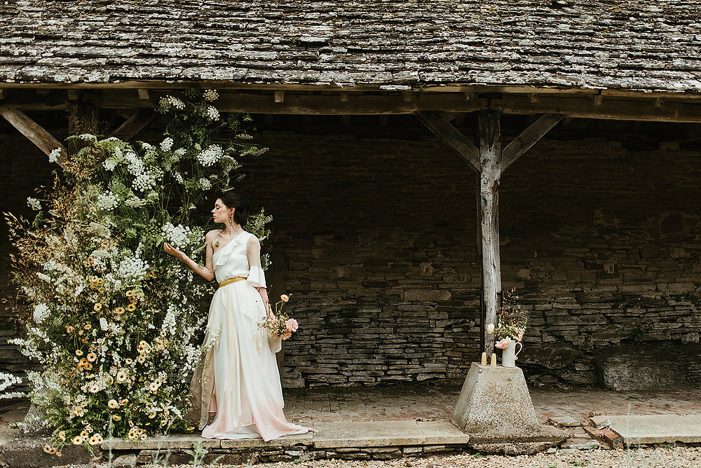 Lyra dress Willoughby and Wolf Jessica Turner Designs boho dip dye wedding dress