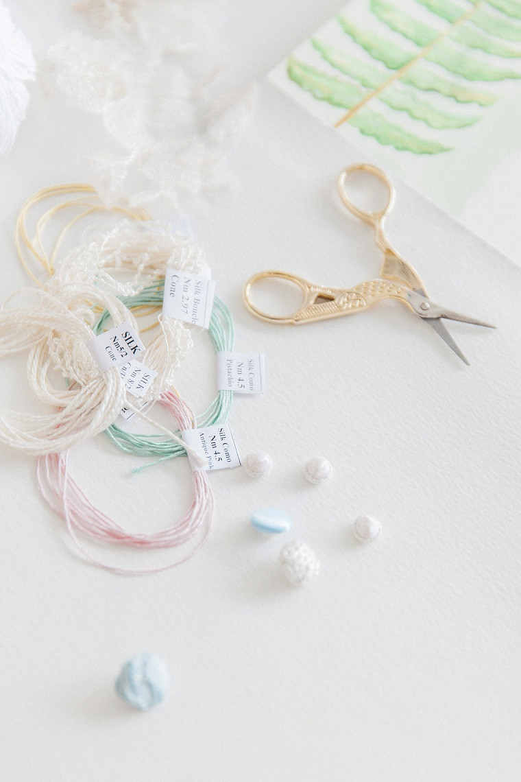 Jessica Turner Designs fabric and silk yarn sourcing for wedding dresses