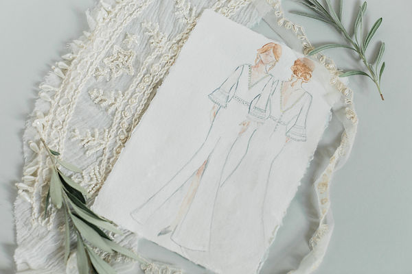 Bridal Collection on paper