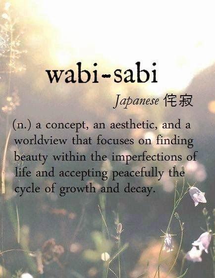 wabi- sabi meaning
