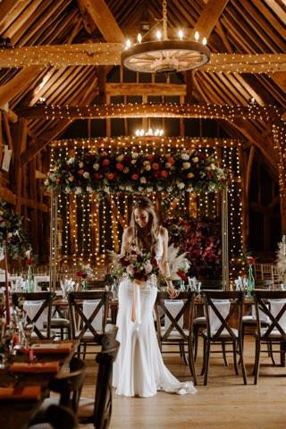 Wedding dress by Jessica Turner Designs