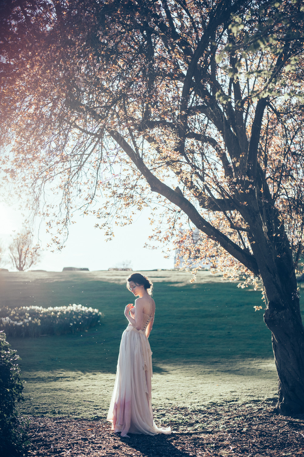 Jessica Turner Designs dip dye wedding dress
