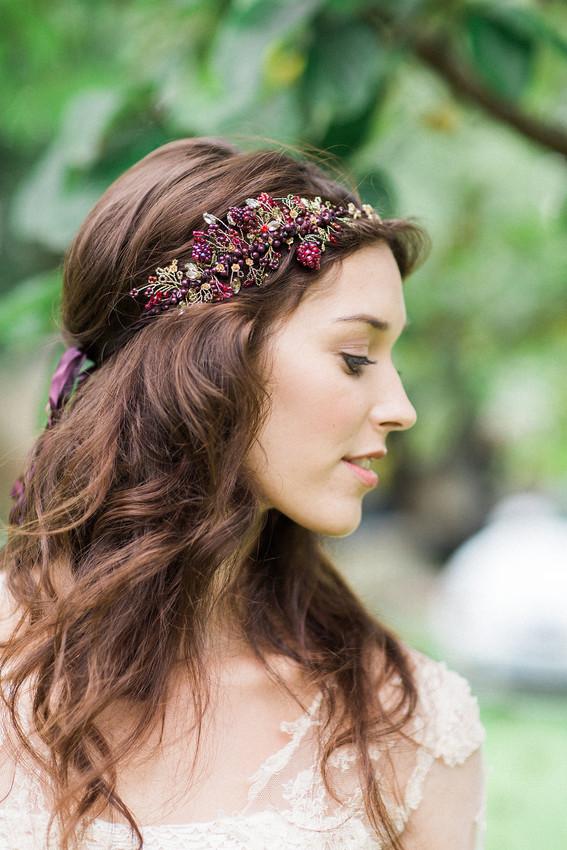 Autumnal Bridal Headdress