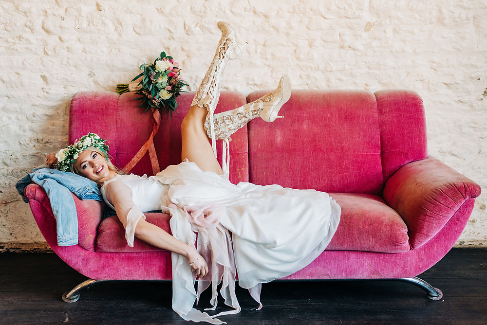 boho modern bride, bespoke london, jessica turner designs, ethical bridal wear