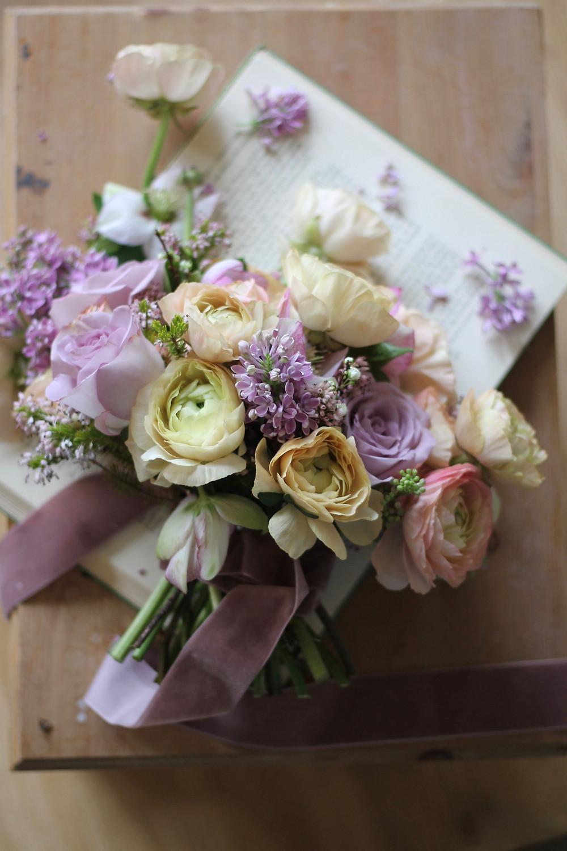 ultra violet pantone colour bridal bouquet Sarah harper flowers