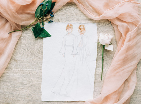 Why slow fashion is just as important as making an ethical wedding dress.