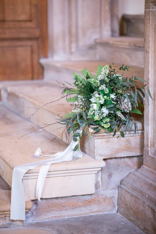 Green style luxury wedding