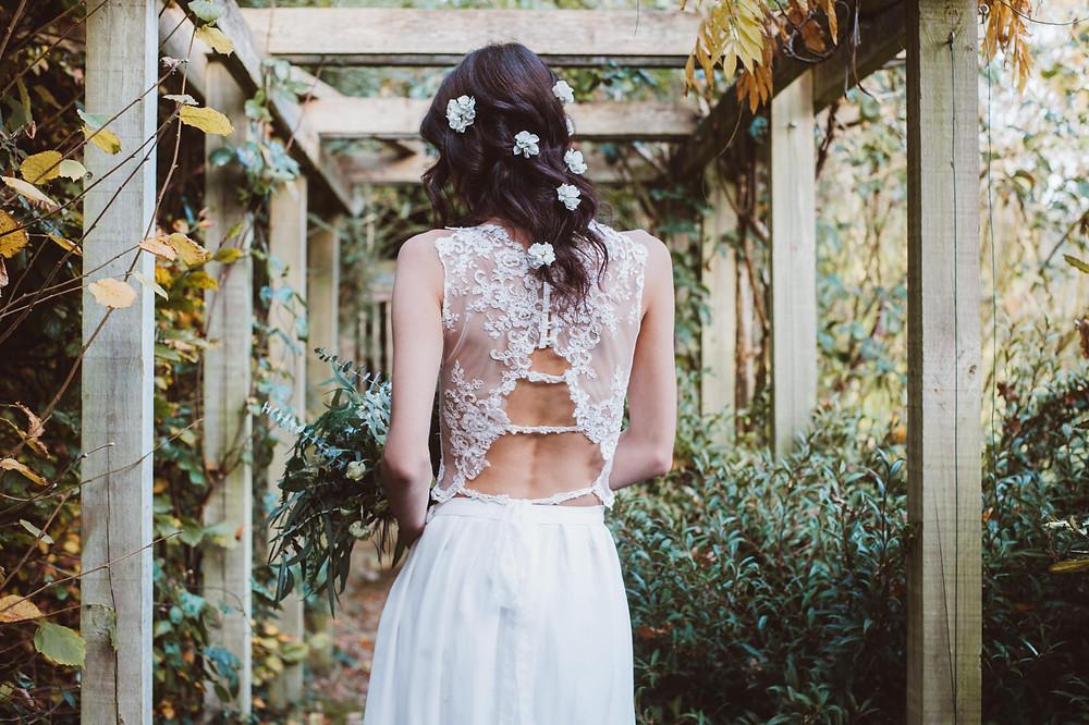 Jessica Turner Designs bridal separate boho bride