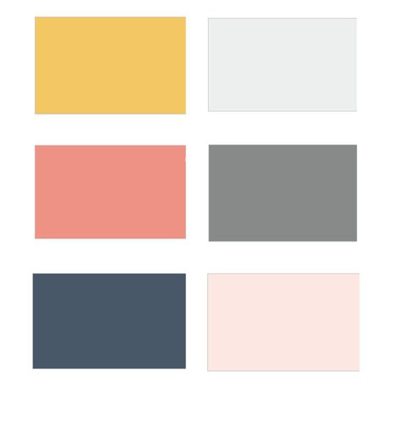Colour Scheme for Jessica Turner Designs.