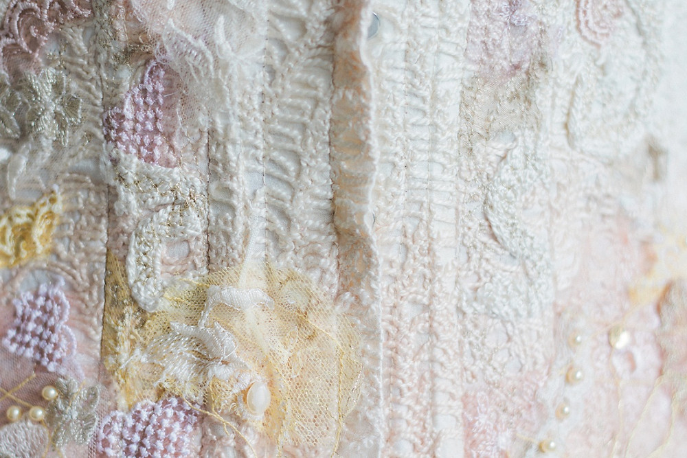 Jessica Turner Designs Silk Knit Fabric for Bridal Wear