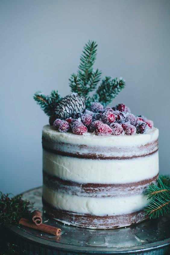 winter wedding cake inspiration