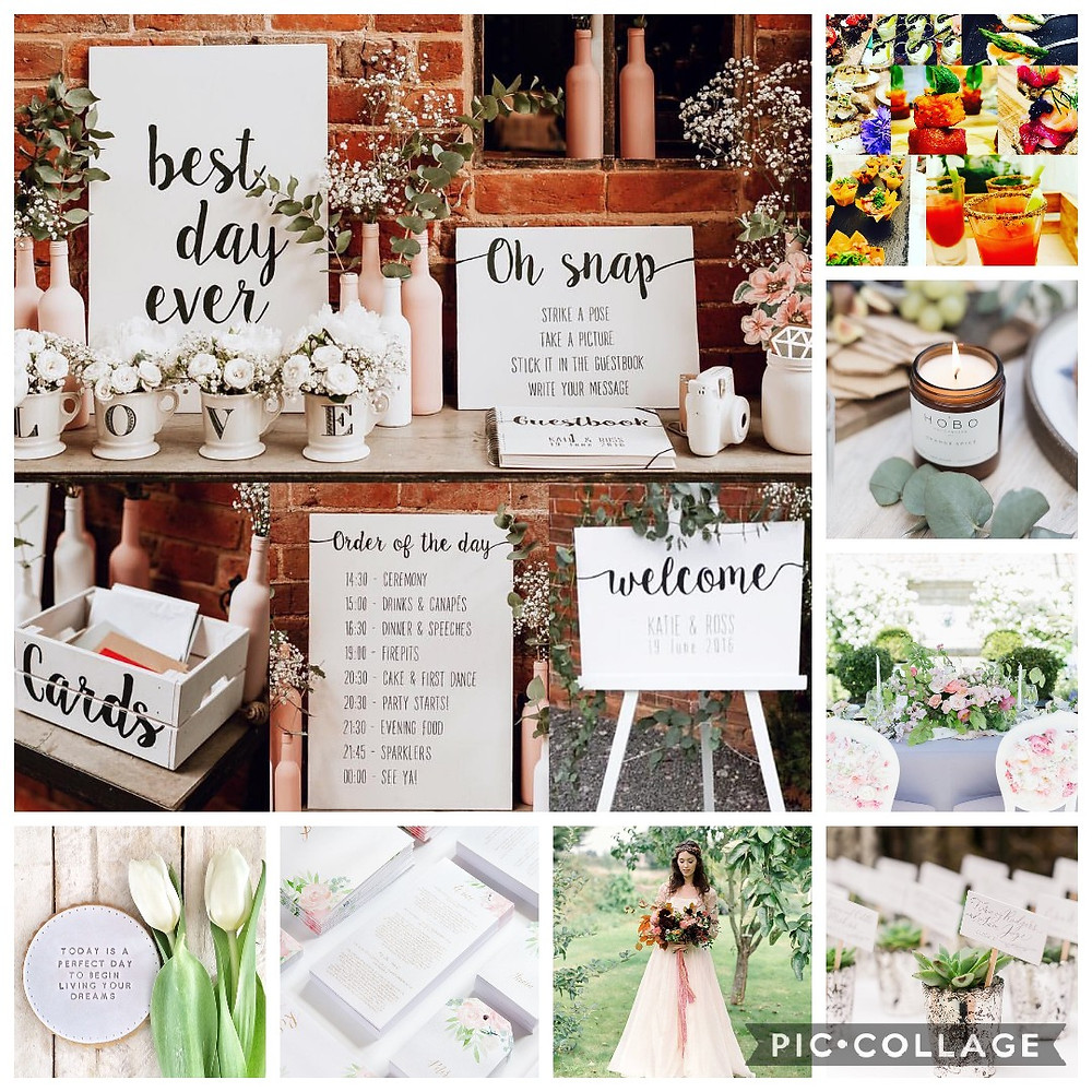 Wedding Inspiration Mood board