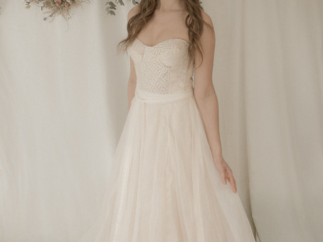 WEDDING DRESS INSPIRATION - 'Where the Wild Things Grow': The New Ethical Bridal Collection