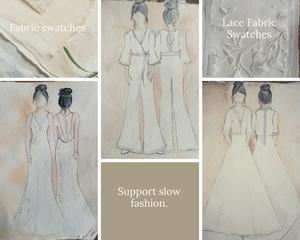 Jessica Turner Designs slow bridal fashion, sustainable bridal designer