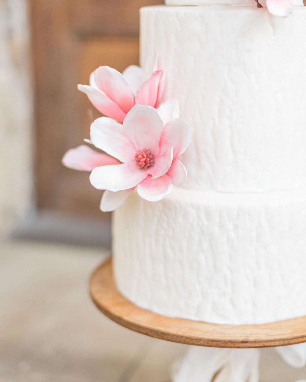 A Spring Wedding Cake.
