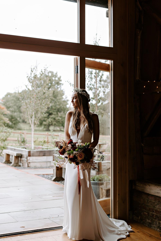 Cosmos wedding dress Jessica Turner Designs