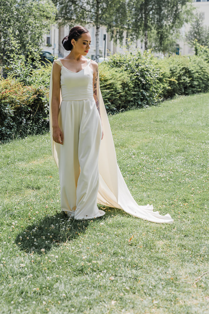 Luxe Jumpsuit and Cape