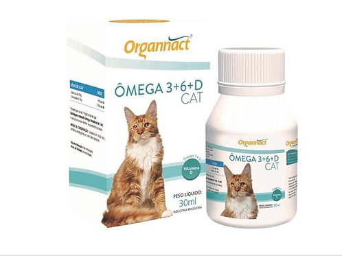 Ômega 3+6+ Cat 30ml
