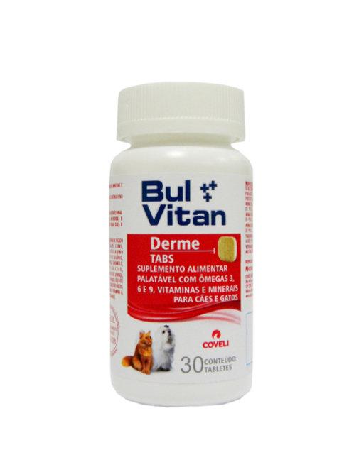 Suplemento para Cães e Gatos Bulvitan Derme Coveli