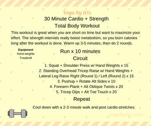 yogabyiris.com cardio strength workout