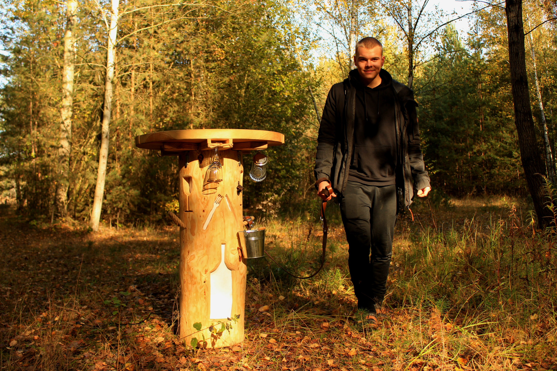 Am liebsten geh`ich mit meinem neuen Stammtisch im Wald spazieren