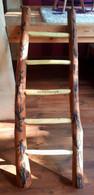 Holzleiter mit einzigartiger Gestaltung