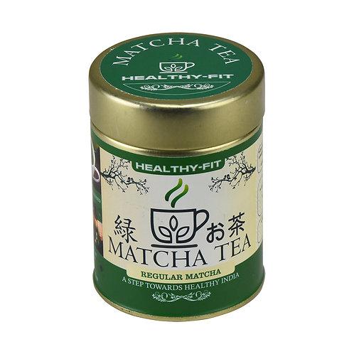 HEALTHY FIT REGULAR MATCHA TEA (50GMS)