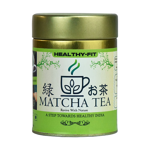 HEALTHY FIT MATCHA TEA (50GMS)