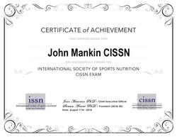 CISSN Certification