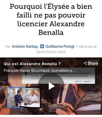 Séverine RISSER interviewée par Le Figaro dans le cadre de l'affaire Benalla