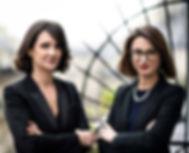 Justine ORIER et Séverine RISSER avocates