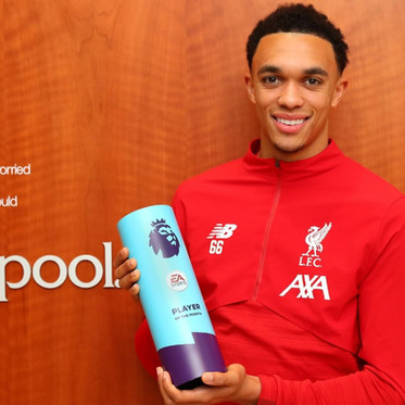 Alexander-Arnold wins Premier League Player of the Month