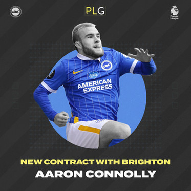 Aaron Connolly Signs New Brighton Contract