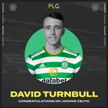 David Turnbull Joins Celtic