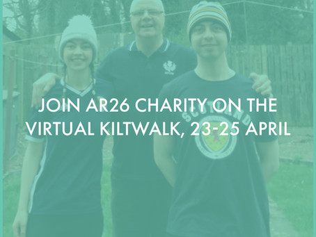 The Virtual Kiltwalk Countdown is on!