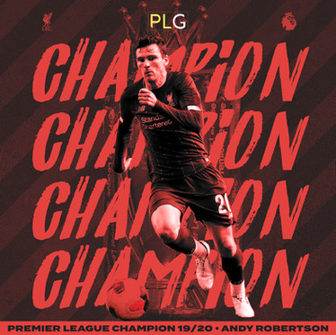 Robertson & Alexander-Arnold Become Premier League Champions