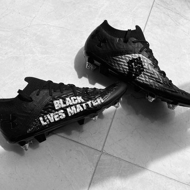Alexander-Arnold Raffles BLM Boots to raise money for the Nelson Mandela Foundation