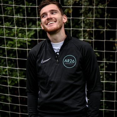 Andy Robertson Launches AR26 Charity