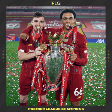 Robertson & Alexander-Arnold Celebrate Becoming Champions