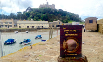 Selling well at St Michael's Mount!
