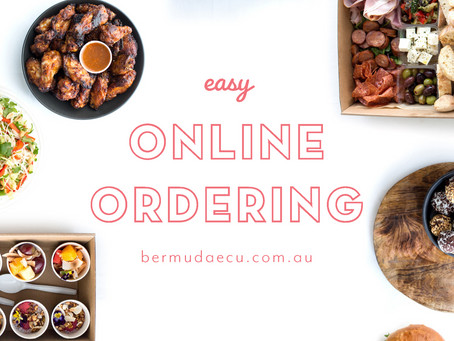 YOU CAN NOW ORDER CATERING ONLINE!