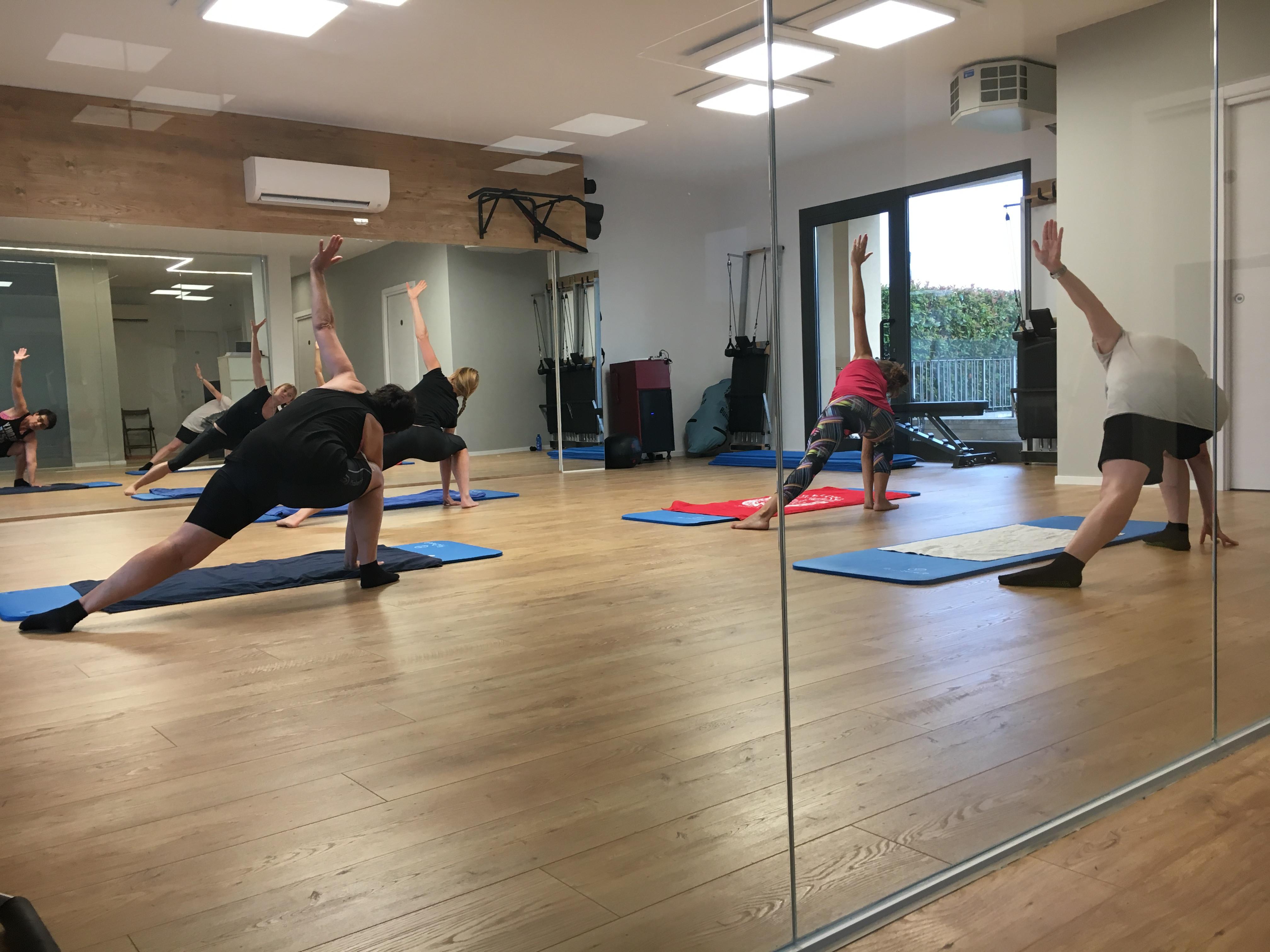 Ginnastica metodo Pilates