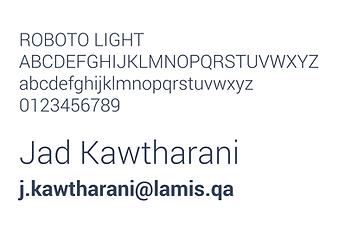 Lamis Typography
