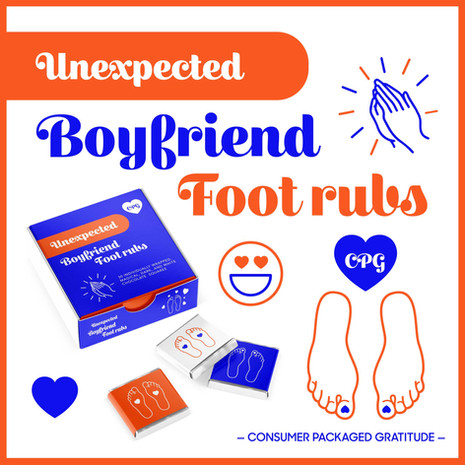 Unexpected Boyfriend Foot Rubs