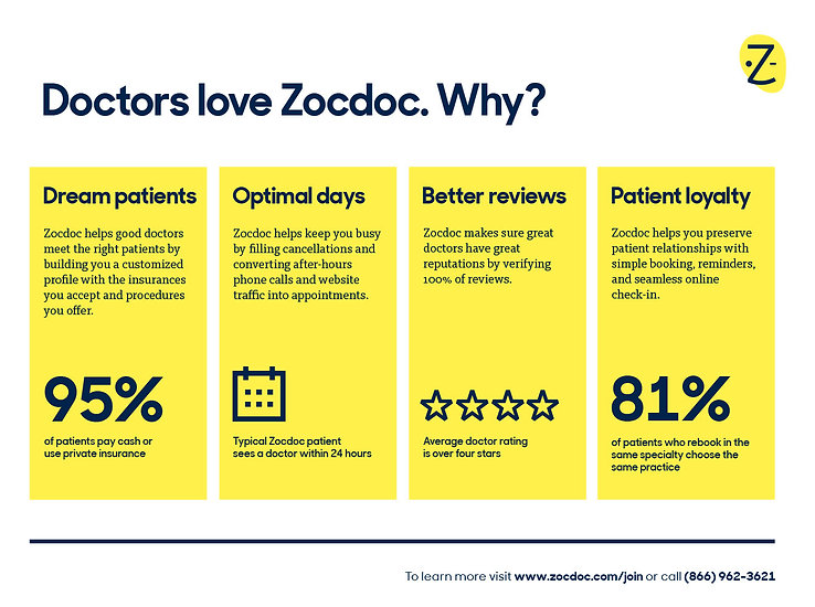 Zocdoc Value Prop Faris Habayeb