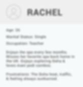 Rachel Persona